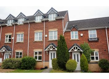 Thumbnail 4 bed town house for sale in Herbert Street, Crewe