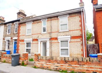 Thumbnail 3 bed semi-detached house to rent in Hervey Street, Ipswich