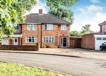 Thumbnail 3 bed semi-detached house for sale in Foxlease, Bedford, Bedfordshire, .