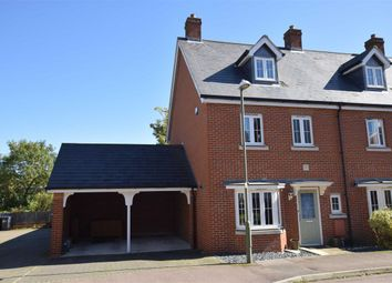 Thumbnail 4 bed end terrace house for sale in Sanville Gardens, Stanstead Abbotts, Hertfordshire
