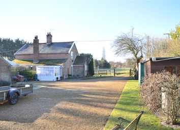 Thumbnail 2 bed semi-detached house for sale in Shingham, Shingham, Swaffham