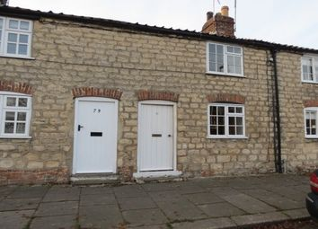 Thumbnail 2 bed terraced house to rent in Town Street, Malton