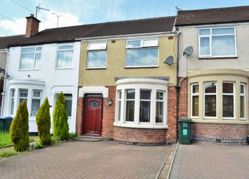 Thumbnail 3 bed terraced house to rent in Catesby Road, Radford, Coventry