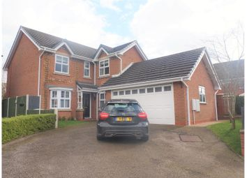 Thumbnail 4 bed detached house for sale in Glebe Close, Nantwich