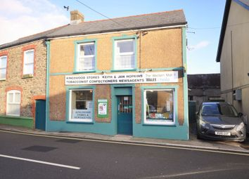 Thumbnail 4 bed end terrace house for sale in Kingswood Stores, Station Road, St.Clears Carmarthenshire
