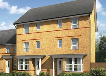 "Thumbnail 4 bed semi-detached house for sale in ""Hythe"" at Fen Street, Brooklands, Milton Keynes"