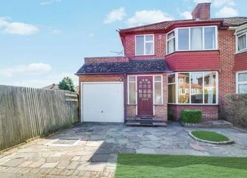 Thumbnail 3 bed semi-detached house for sale in 136 Wetheral Drive, Stanmore, Middlesex