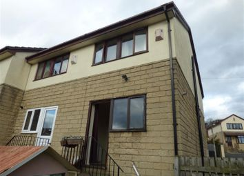 Thumbnail 2 bedroom semi-detached house to rent in The Oval, Bingley