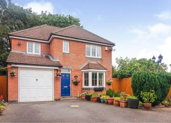 Thumbnail 4 bed detached house for sale in Lucerne Close, Coventry