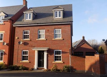 Thumbnail 5 bedroom detached house for sale in Birkdale Close, Swindon