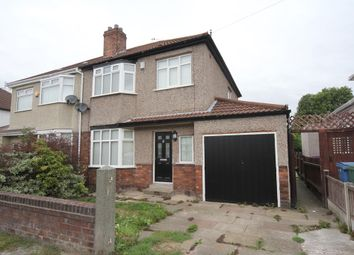 Thumbnail 3 bed semi-detached house to rent in Kingsmead Drive, Hunts Cross, Liverpool