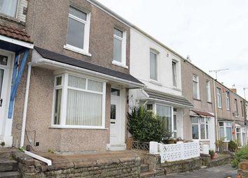 Thumbnail 2 bedroom terraced house for sale in Seaview Terrace, Swansea