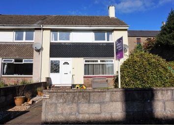 Thumbnail 3 bed end terrace house for sale in Lyninghills, Forfar