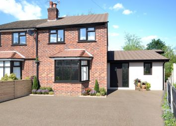Thumbnail 3 bed semi-detached house for sale in Annis Close, Alderley Edge