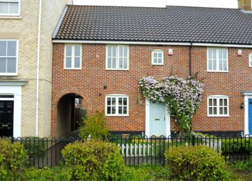Thumbnail 3 bed terraced house for sale in Bromedale Avenue, Mulbarton, Norwich