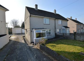 Thumbnail 2 bed semi-detached house to rent in Shortwood Crescent, Plymouth, Devon