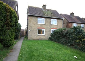Thumbnail 3 bed semi-detached house for sale in The Crescent Barrow Green, Teynham, Sittingbourne
