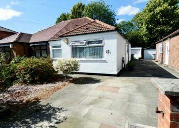 Thumbnail 2 bedroom semi-detached bungalow for sale in Grange Road, Sale