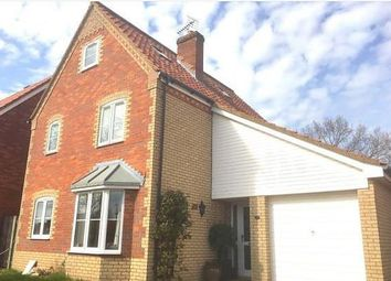 Thumbnail 4 bed detached house to rent in Sandling Crescent, Rushmere St. Andrew, Ipswich