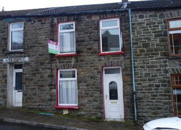 Thumbnail 3 bed terraced house to rent in Alma Street, Tynewydd