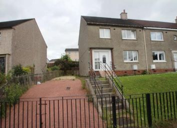 Thumbnail 3 bed end terrace house for sale in Park Road, Calderbank, Airdrie, North Lanarkshire