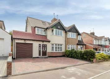 Thumbnail 4 bed semi-detached house for sale in Hazelwood Drive, Pinner, Middlesex