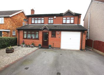 Thumbnail 4 bedroom detached house for sale in Byron Street, Barwell, Leicester