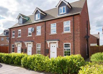 Thumbnail 3 bed end terrace house for sale in Foxglove Court, Spalding