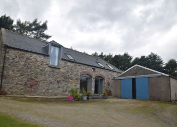 Thumbnail 4 bedroom barn conversion for sale in Glass, Huntly