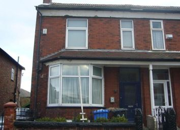 Thumbnail 4 bedroom end terrace house to rent in Carlton Road, Salford