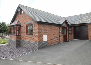Thumbnail 2 bed detached bungalow for sale in Maes Neuadd, Off Hall Bank, Montgomery