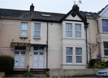 Thumbnail 4 bedroom terraced house for sale in Elphinstone Road, Plymouth
