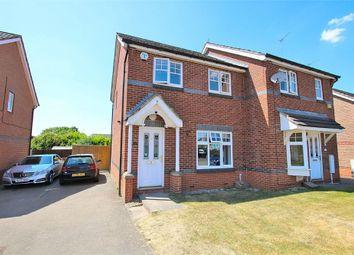 Thumbnail 3 bed semi-detached house for sale in Thomas Chapman Grove, Southbridge, Northampton