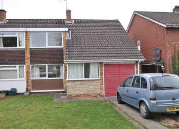 Thumbnail 3 bedroom semi-detached house to rent in Reynolds Close, Keynsham, Bristol