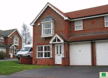 Thumbnail 3 bed semi-detached house to rent in Wychelm Road, Oadby, Leics