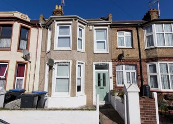 Thumbnail 3 bed terraced house for sale in Helena Avenue, Margate