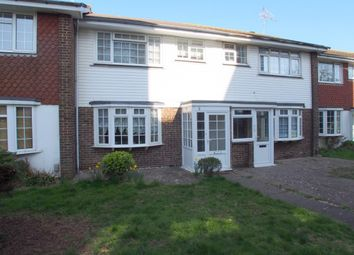 Thumbnail 3 bed terraced house to rent in Victoria Park Gardens, Worthing