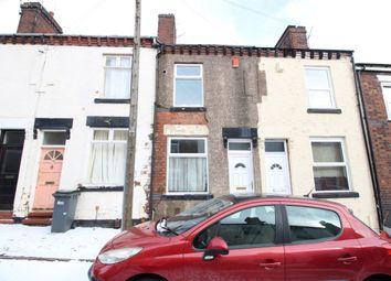 Thumbnail 2 bed terraced house for sale in Denbigh Street, Hanley, Stoke-On-Trent