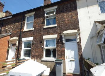 Thumbnail 2 bedroom terraced house for sale in Upper Normacot Road, Longton, Stoke-On-Trent
