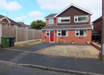 Thumbnail 4 bed detached house for sale in Newton Close, Bewdley
