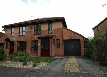 Thumbnail 3 bed semi-detached house for sale in Portland Drive, Willen, Milton Keynes