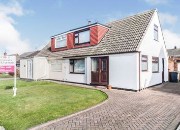 Thumbnail 2 bed semi-detached bungalow for sale in Kildale Grove, Hartlepool