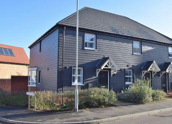 Thumbnail 2 bedroom semi-detached house for sale in Isabel Drive, Elsenham, Bishop's Stortford, Hertfordshire