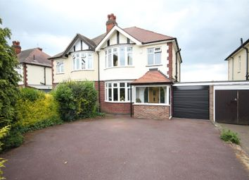 Thumbnail 3 bed semi-detached house for sale in Western Road, Mickleover, Derby
