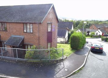 Thumbnail 1 bed semi-detached house for sale in 14, Campion Close, Llanllwchaiarn, Newtown, Powys