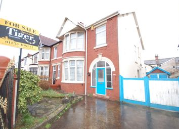 Thumbnail 4 bed semi-detached house for sale in Rosebery Avenue, Blackpool