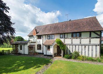 Thumbnail 4 bed semi-detached house for sale in Little Alne, Wootton Wawen, Henley-In-Arden, Warwickshire