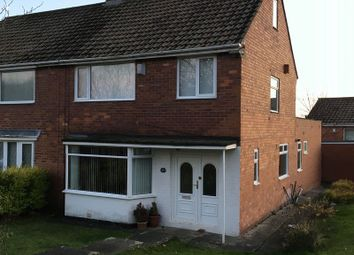 Thumbnail Semi-detached house for sale in Woodlands, Throckley, Newcastle Upon Tyne