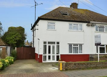 Thumbnail 4 bedroom semi-detached house for sale in St Swithins Road, Tankerton, Whitstable, Kent