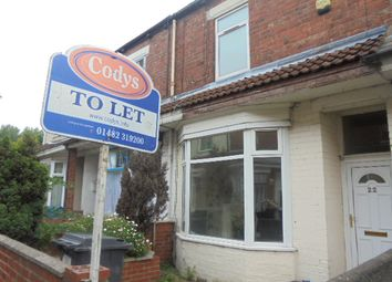Thumbnail 3 bedroom terraced house to rent in Zetland Street, Hull